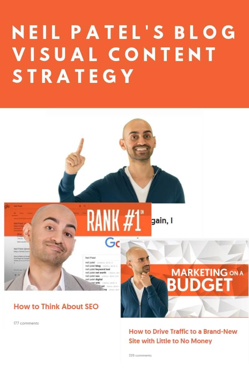 neil patel blog visual content strategy