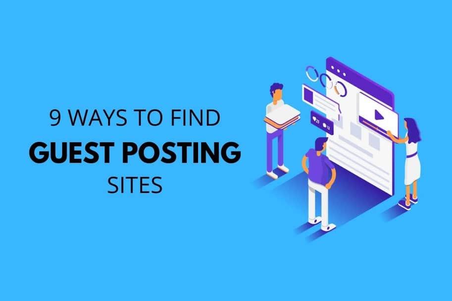 find guest posting sites