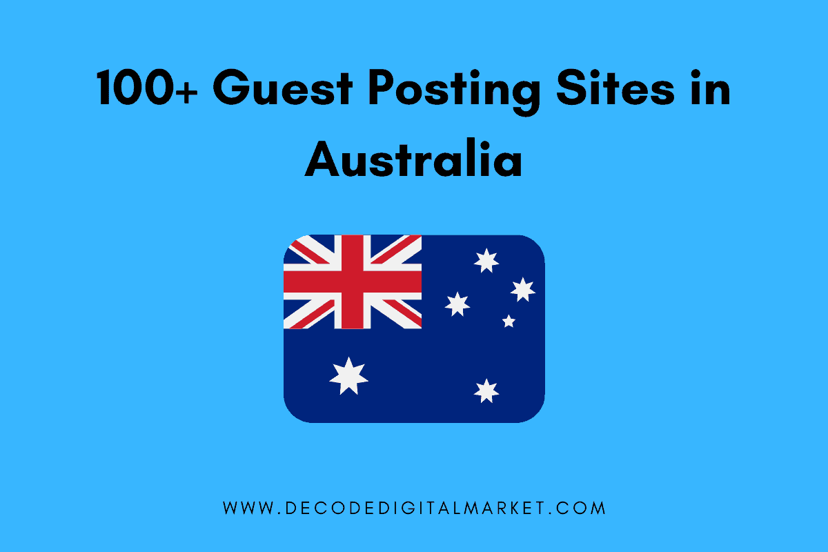 Guest Posting Sites in Australia