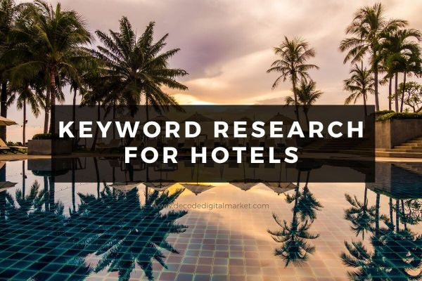 keyword research for hotels