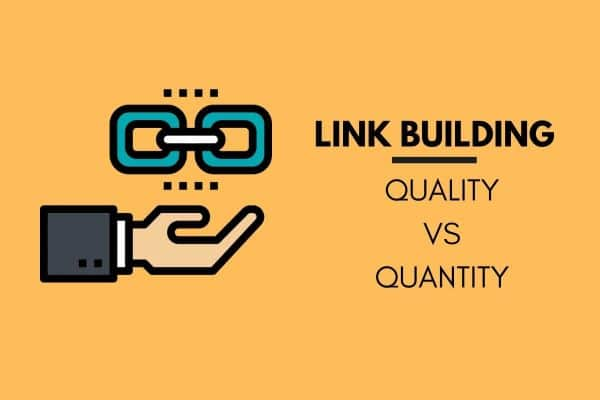 link building quality vs quanitity