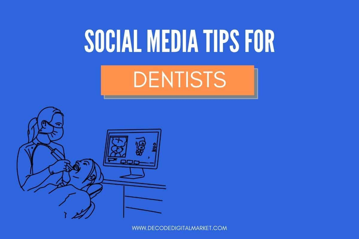 social media tips for dentist