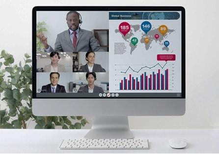 make presentation for online conference