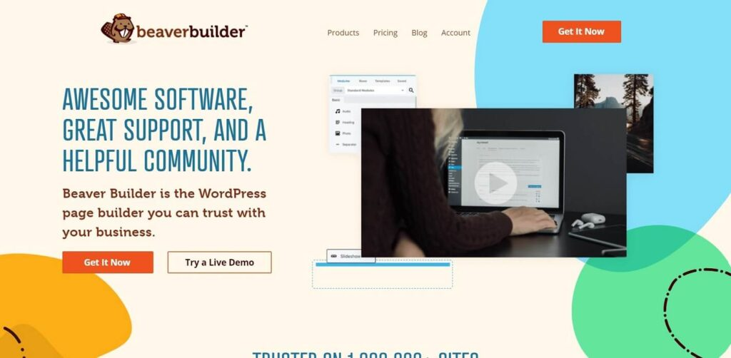 Beaver Drag and Drop Page Builder