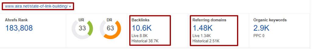 survey to earn natural backlinks